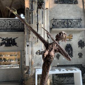 Ndary Lo au Musée Le Secq des Tournelles à Rouen
